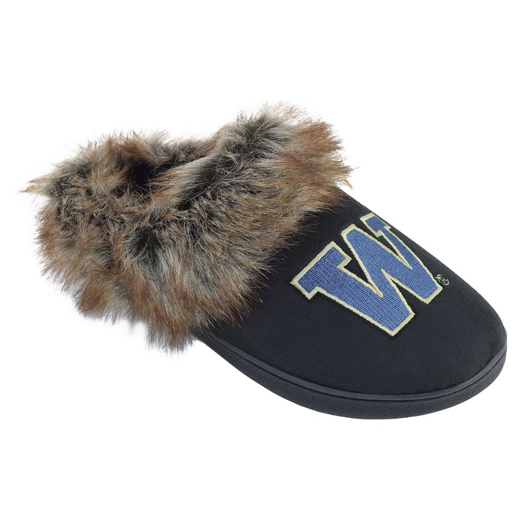 Women's Washington Huskies Scuff Slippers