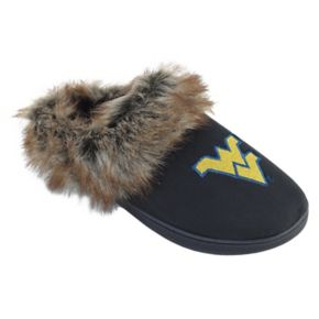 Women's West Virginia Mountaineers Scuff Slippers