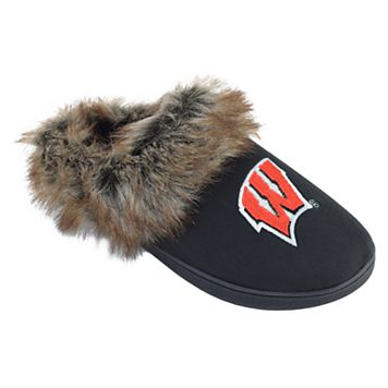 Women's Wisconsin Badgers Scuff Slippers