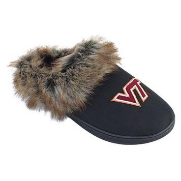 Women's Virginia Tech Hokies Scuff Slippers