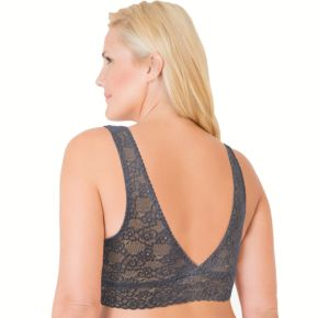 Juniors' Plus Size SO® Bras: Lace Plunge Bralette