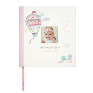 """C.R. Gibson 64-pg. """"Wonderful You"""" Baby Girl First Year Memory Book"""