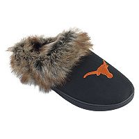 Women's Texas Longhorns Scuff Slippers