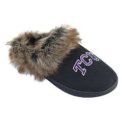 Women's TCU Horned Frogs Scuff Slippers
