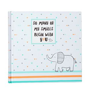 """Carter's """"So Many of My Smiles Begin With You"""" Baby Photo Book"""