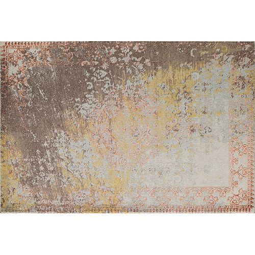 Momeni Luxe Gavriel Framed Floral Rug