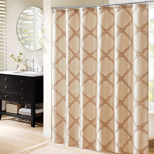 Bombay Teramo Embroidered Shower Curtain