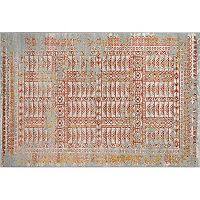 Momeni Luxe Villiers Framed Geometric Rug
