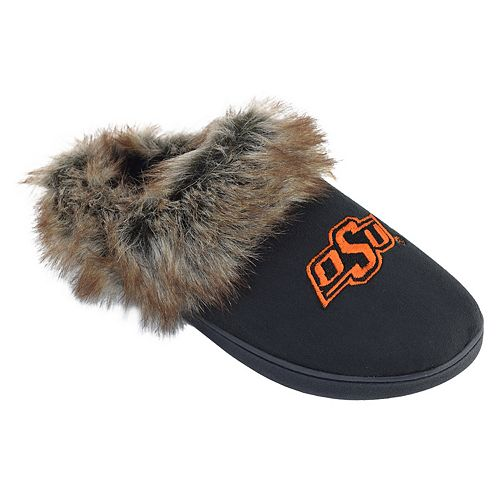 Women's Oklahoma State Cowboys Scuff Slippers