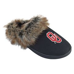 Women's Oklahoma Sooners Scuff Slippers