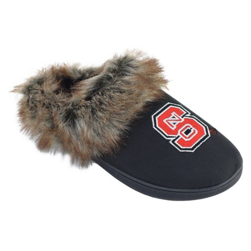 Women's North Carolina State Wolfpack Scuff Slippers