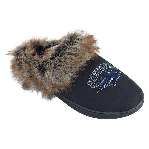 Women's Nevada Wolf Pack Scuff Slippers