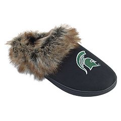Women's Michigan State Spartans Scuff Slippers