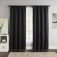 VCNY 2-pack Amber Blackout Curtain