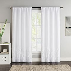 VCNY 2-pack Amber Blackout Window Curtains