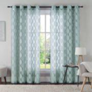 VCNY 1-Panel Aria Window Curtain