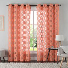 VCNY 1-Panel Aria Window Curtain