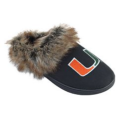 Women's Miami Hurricanes Scuff Slippers
