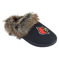 Women's Louisville Cardinals Scuff Slippers