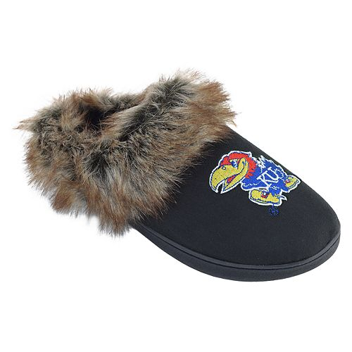 Women's Kansas Jayhawks Scuff Slippers