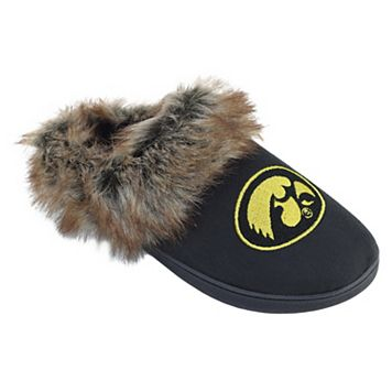 Women's Iowa Hawkeyes Scuff Slippers