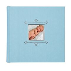 C.R. Gibson 40-pg. Baby Boy Leaf Photo Book