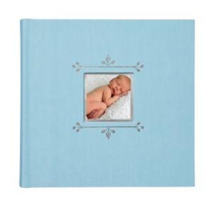 C.R. Gibson 40-pg. Baby Boy Leaf Photo Book