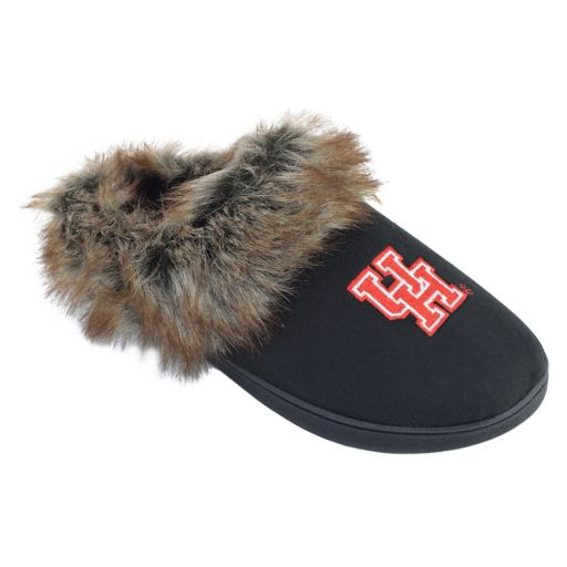 Women's Houston Cougars Scuff Slippers