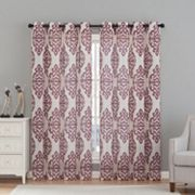 VCNY 2-pack Luxor Window Curtains