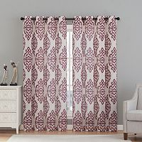 VCNY 2-pack Luxor Curtain