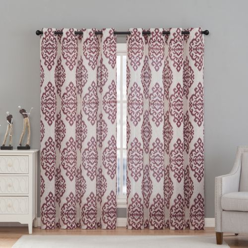 VCNY Home 2-pack Luxor Curtain