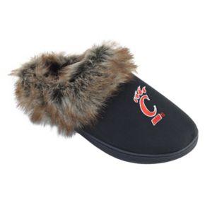 Women's Cincinnati Bearcats Scuff Slippers