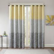 Intelligent Design Blackout 1-Panel Kennedy Window Curtain