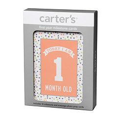 Carter's Baby's First Year Milestone Cards