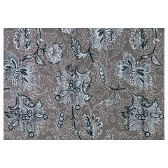 Concord Global Thema Jacobean Floral Rug
