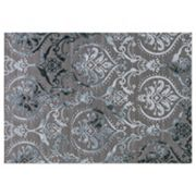 Concord Global Thema Large Damask Rug