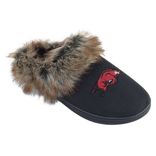 Women's Arkansas Razorbacks Scuff Slippers