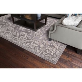 Concord Global Thema Anatolia Framed Floral Rug