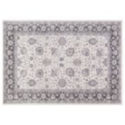 Concord Global Lara Vase Framed Floral Rug