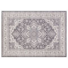 Concord Global Lara Heriz Framed Floral Rug