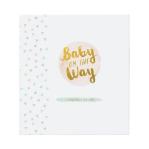C.R. Gibson Baby on the Way Pregnancy Journal