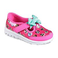 Skechers GOwalk Bow-Wow Toddler Girls' Sneakers