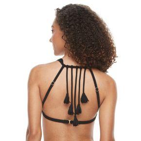 Women's S.O.S. Sun Ocean Sand Bra-Sized Halter Bikini Top