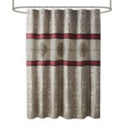 Madison Park Blaine Embroidered Shower Curtain