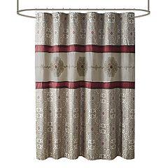 Madison Park Blaine Embroidered Shower Curtain