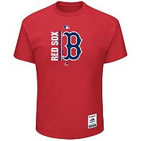 Big & Tall Majestic Boston Red Sox Authentic Collection Tee