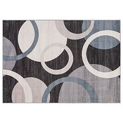 Concord Global Lara Circles Geometric Rug