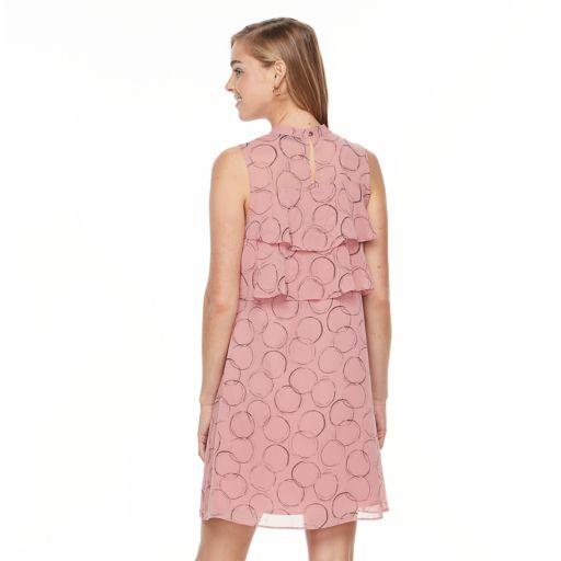 Women's Apt. 9® Tiered Mockneck Dress