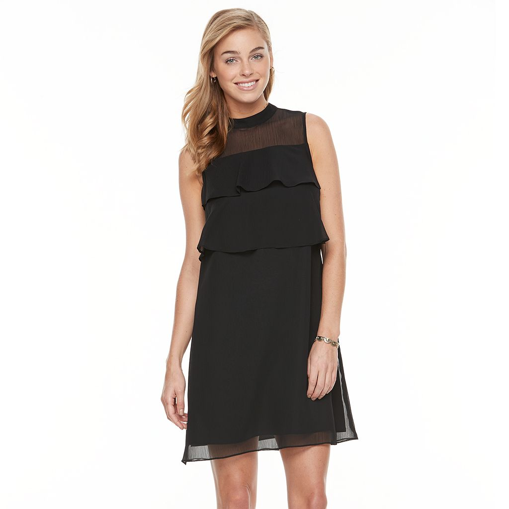 Women's Apt. 9® Tiered Mockneck Dress
