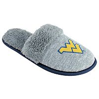 Women's West Virginia Mountaineers Sherpa-Lined Clog Slippers